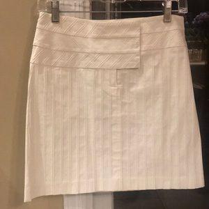 White Cache Mini Skirt